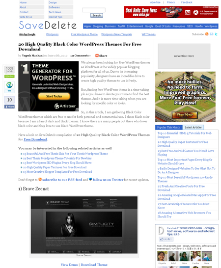 20 High Quality Black Color WordPress Themes For Free Download.jpg